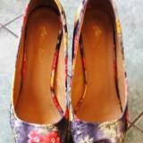 Pantofi cu platforma - Pantof dama, Culoare: Din imagine, Marime: 36