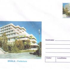 Braila- Prefectura, Arhitectura, intreg postal necirculat