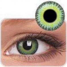 Lentile de contact colorate Yellow Green. Pentru 3 luni. Livrare imediata !