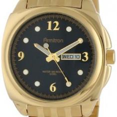 Armitron Men's 20 4872BKGP Gold-Tone | 100% original, import SUA, 10 zile lucratoare a12107 - Ceas barbatesc Armitron, Elegant, Quartz
