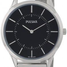 Pulsar Men's PTA499X Silver-Tone Watch | 100% original, import SUA, 10 zile lucratoare a42707 - Ceas barbatesc Pulsar, Quartz