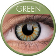 123123Lentile de contact colorate verzi Glamour. Pentru 3 luni. Livrare imediata !