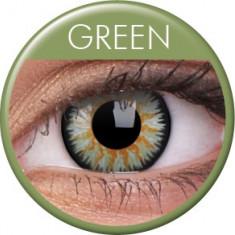 Lentile de contact colorate verzi Glamour. Pentru 3 luni. Livrare imediata !