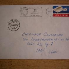BDPL - CIRCULATIE POSTALA NATIONALA - 1981