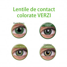 Lentile de contact colorate Verzi.