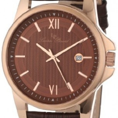 Lucien Piccard Men's 10048-RG-04 Breithorn | 100% original, import SUA, 10 zile lucratoare a42707 - Ceas barbatesc Lucien Piccard, Quartz