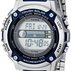 Casio Men's WS210HD-1AVCF Tough Solar | 100% original, import SUA, 10 zile lucratoare a42707 - Ceas barbatesc Casio, Sport