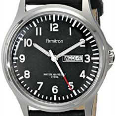 Armitron Men's 20 4996BKSVBK Easy | 100% original, import SUA, 10 zile lucratoare a42707 - Ceas barbatesc Armitron, Elegant, Quartz