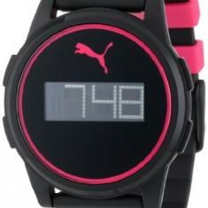 PUMA Flat Coaster Black Pink   100% original, import SUA, 10 zile lucratoare a42707 - Ceas barbatesc Puma, Fashion