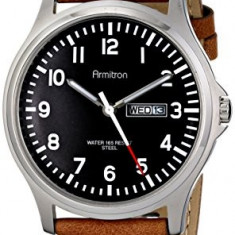 Armitron Men's 20 4996BKSVTN Day | 100% original, import SUA, 10 zile lucratoare a42707 - Ceas barbatesc Armitron, Elegant, Quartz