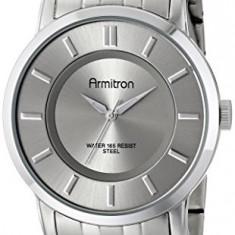 Armitron Men's 20 4962SVSV Silver-Tone | 100% original, import SUA, 10 zile lucratoare a42707 - Ceas barbatesc Armitron, Elegant, Quartz