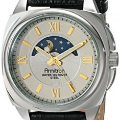 Armitron Men's 20 5026GYSVBK Sun | 100% original, import SUA, 10 zile lucratoare a42707 - Ceas barbatesc Armitron, Elegant, Quartz