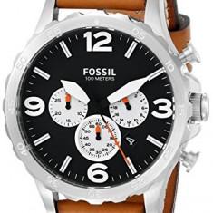 Fossil Men's JR1486 Nate Stainless   100% original, import SUA, 10 zile lucratoare a12107 - Ceas barbatesc Fossil, Casual, Quartz
