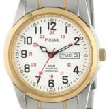 Pulsar Men's PJ6008 Dress Watch | 100% original, import SUA, 10 zile lucratoare a12107, Quartz