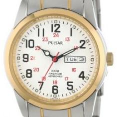 Pulsar Men's PJ6008 Dress Watch | 100% original, import SUA, 10 zile lucratoare a12107 - Ceas barbatesc Pulsar, Quartz
