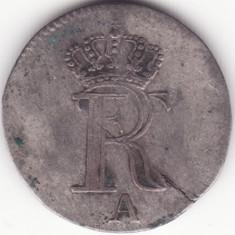 Regatul Prusiei - 1/48 Thaler 1773 - Argint slab