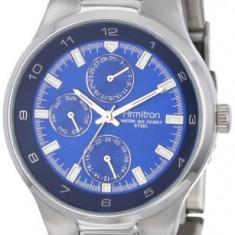 Armitron Men's 204333BLSV Silver-Tone Stainless | 100% original, import SUA, 10 zile lucratoare a42707 - Ceas barbatesc Armitron, Elegant