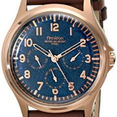 Armitron Men's 20 4997NVRGBN Multi-Function | 100% original, import SUA, 10 zile lucratoare a12107 - Ceas barbatesc Armitron, Elegant, Quartz
