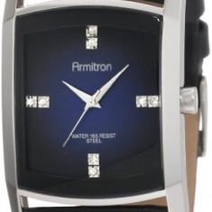 Armitron Men's 204604DBSVBK Dress Swarovski | 100% original, import SUA, 10 zile lucratoare a42707 - Ceas barbatesc Armitron, Elegant, Quartz