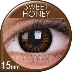 Lentile de contact colorate Sweet Honey. Pentru 3 lunu.Livrare imediata din stoc