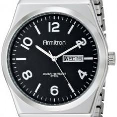 Armitron Men's 20 4967BKSV Black | 100% original, import SUA, 10 zile lucratoare a42707 - Ceas barbatesc Armitron, Elegant, Quartz