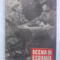 2 reviste Scena si Ecranul nr. 21/1957 si nr. 8/1958 /  C1DP