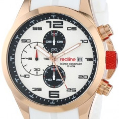 Red line Men's RL-50042-RG-02-WHT Stealth | 100% original, import SUA, 10 zile lucratoare a12107 - Ceas barbatesc Red Line, Quartz