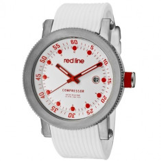 Red line Men's RL-18000-02RD-WHT-ST Compressor | 100% original, import SUA, 10 zile lucratoare a12107 - Ceas barbatesc Red Line, Quartz