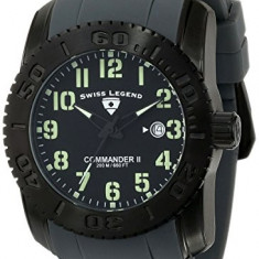 Swiss Legend Men's 10068-BB01GRAGRS Commander | 100% original, import SUA, 10 zile lucratoare a42707 - Ceas barbatesc Swiss Legend, Quartz