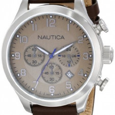Nautica Men's N14698G BFD 101 | 100% original, import SUA, 10 zile lucratoare a12107 - Ceas barbatesc Nautica, Quartz