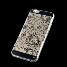 Husa plastic Iphone 6 Plus 5.5 + folie protectie ecran