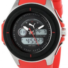 PUMA Men's PU911021002 Fuel Digital | 100% original, import SUA, 10 zile lucratoare a12107 - Ceas barbatesc Puma, Fashion, Quartz, Electronic