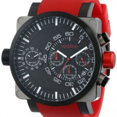 Red line Men's RL-50048-SS-BB-01-RD Dual | 100% original, import SUA, 10 zile lucratoare a12107 - Ceas barbatesc Red Line, Quartz