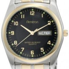 Armitron Men's 201143 Round Easy | 100% original, import SUA, 10 zile lucratoare a42707 - Ceas barbatesc Armitron, Casual, Quartz