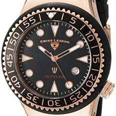 Swiss Legend Men's 21848D-RG-01-NB Neptune | 100% original, import SUA, 10 zile lucratoare a42707 - Ceas barbatesc Swiss Legend, Quartz