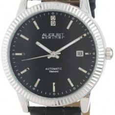 August Steiner Men's AS8025BK Automatic | 100% original, import SUA, 10 zile lucratoare a12107 - Ceas barbatesc August Steiner, Mecanic-Automatic