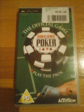 JOC PSP WORLD SERIES OF POKER ORIGINAL / by WADDER, Board games, Toate varstele, Single player, Activision