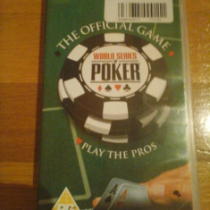 JOC PSP WORLD SERIES OF POKER ORIGINAL / by WADDER - Jocuri PSP Activision, Board games, Toate varstele, Single player