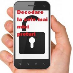 Decodare Deblocare ALCATEL OT EasyMusic I802 I808 I818 I880 I888 Chat 2000X - Decodare telefon