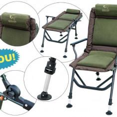 Scaun Baracuda pentru pescuitul la crap HXC 021 cu perna si cotiere!!! - Mobilier camping