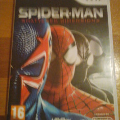 JOC WII SPIDER-MAN SHATTERED DIMENSIONS ORIGINAL PAL / by DARK WADDER - Jocuri WII Activision, Actiune, 16+, Single player
