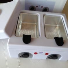 Decantor ceara Mini, Incalzitor, 2X500 gr. cu 2 site decantare - Epilator