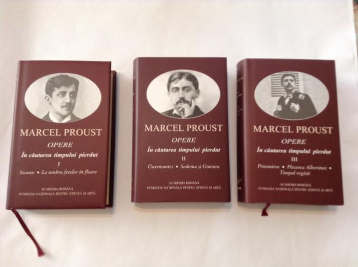 Marcel Proust    IN CAUTAREA TIMPULUI PIERDUT,3 VOLUME foto mare