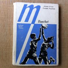 BASCHET ARISTEIA HRISCA CORNELIU NEGULESCU HOBBY CARTE EDITURA SPORT TURISM 1981 - Carte sport