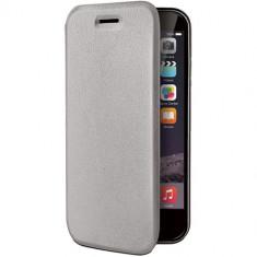 Husa Flip Cover Celly 107430 Folio Case gri pentru Apple iPhone 6