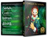 CIRQUE DU SOLEIL - Colectie 4 DVD-uri