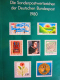 CAIET CATALOG CU TIMBRE NESTAMPILATE COMPLET 1980 GERMANIA