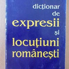 DICTIONAR DE EXPRESII SI LOCUTIUNI ROMANESTI- 1997, CONTINE 425 PAGINI