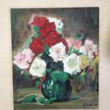 Flori - pictura in ulei - Tablou autor neidentificat, Altul