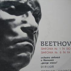 Beethoven - Simfoniile 1 si 8, vinil - Muzica Clasica electrecord